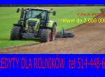 Kredyty dla Rolników cała Polska