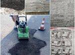 Asfalt na zimno worki zimny asfalt 1000 kg WYSYŁKA w CEN