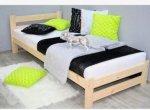 Łóżko 90x200 drewniane z materacem pojedyncze Od ręki 90