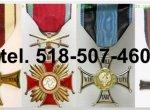Kupię stare ordery, medale, odznaki, odznaczenia, orzełk